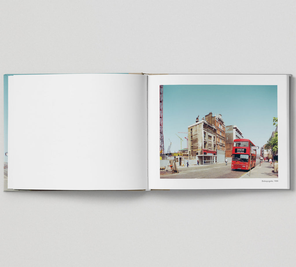 Limited edition print (C) + signed book: 'The East End in Colour 1980-1990'
