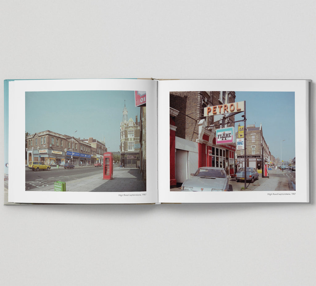 Limited edition print (B) + signed book: 'The East End in Colour 1980-1990'