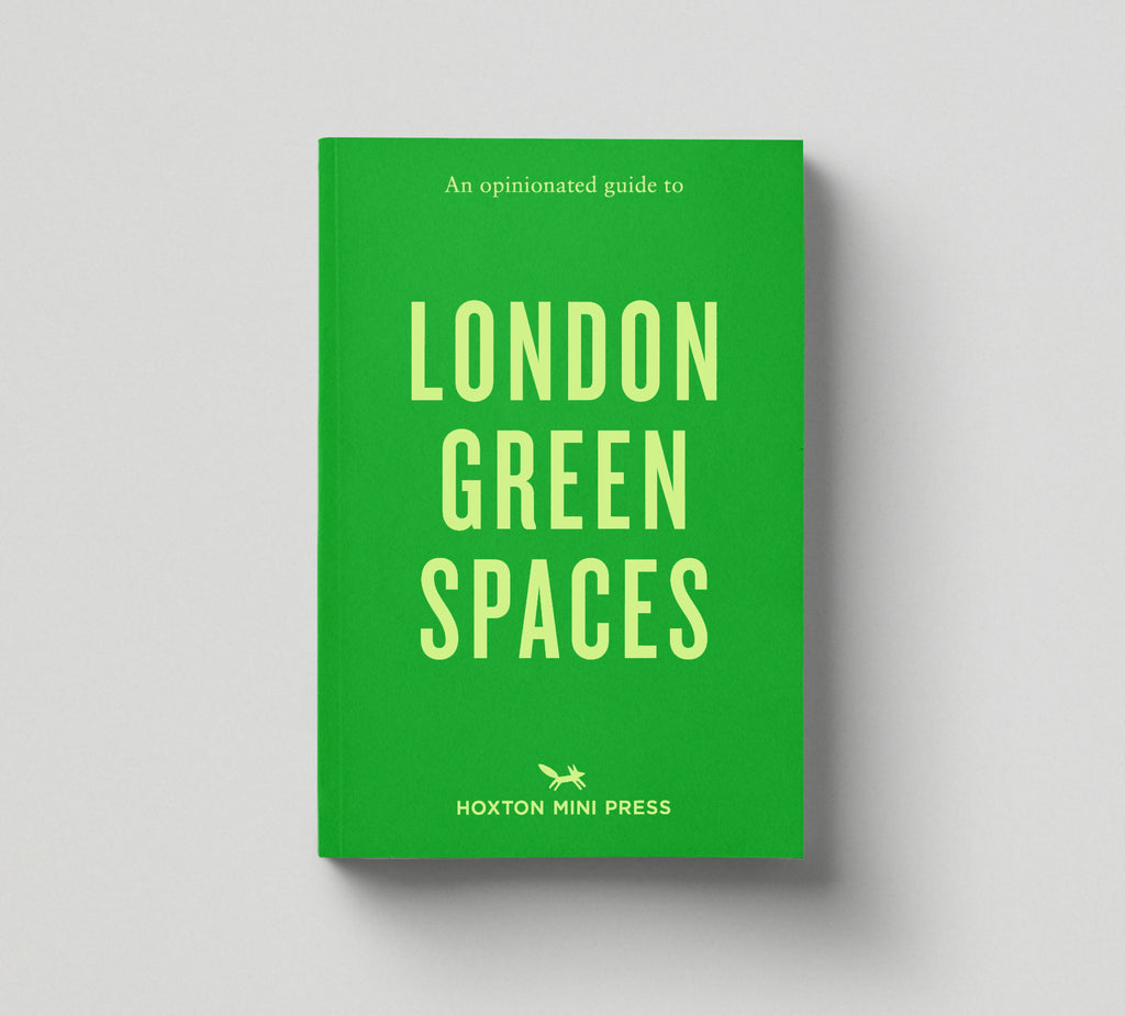 4 OPINIONATED GUIDES: (East London, Architecture, Vegan & Green Spaces) - save 25%