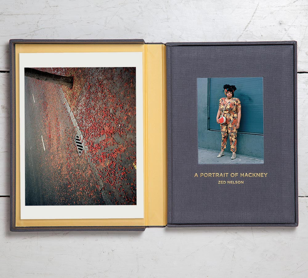 Collector's Edition + Print (Photo Book 3):  A Portrait of Hackney
