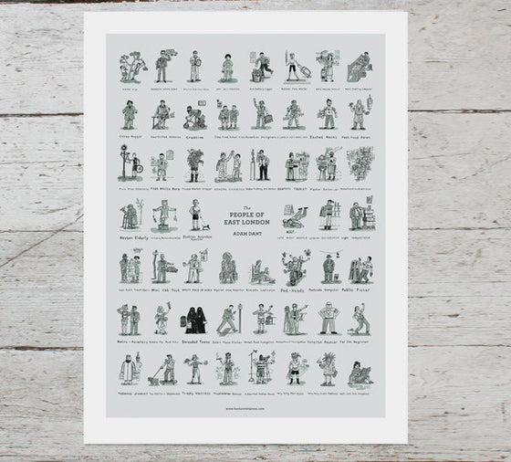 The People of East London PRINT - limited edition 1/250