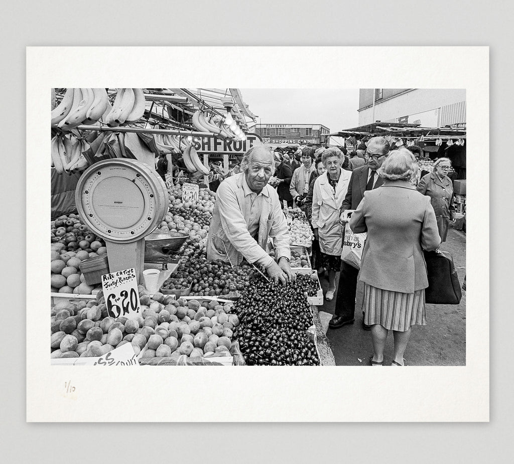 Limited edition print (C) + signed book: 'Hackney Archive'