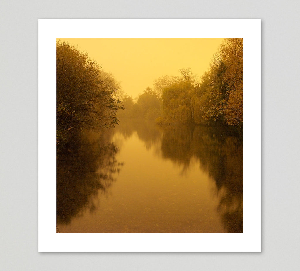 David George Print 'Victoria Park 3am' - limited edition of 10