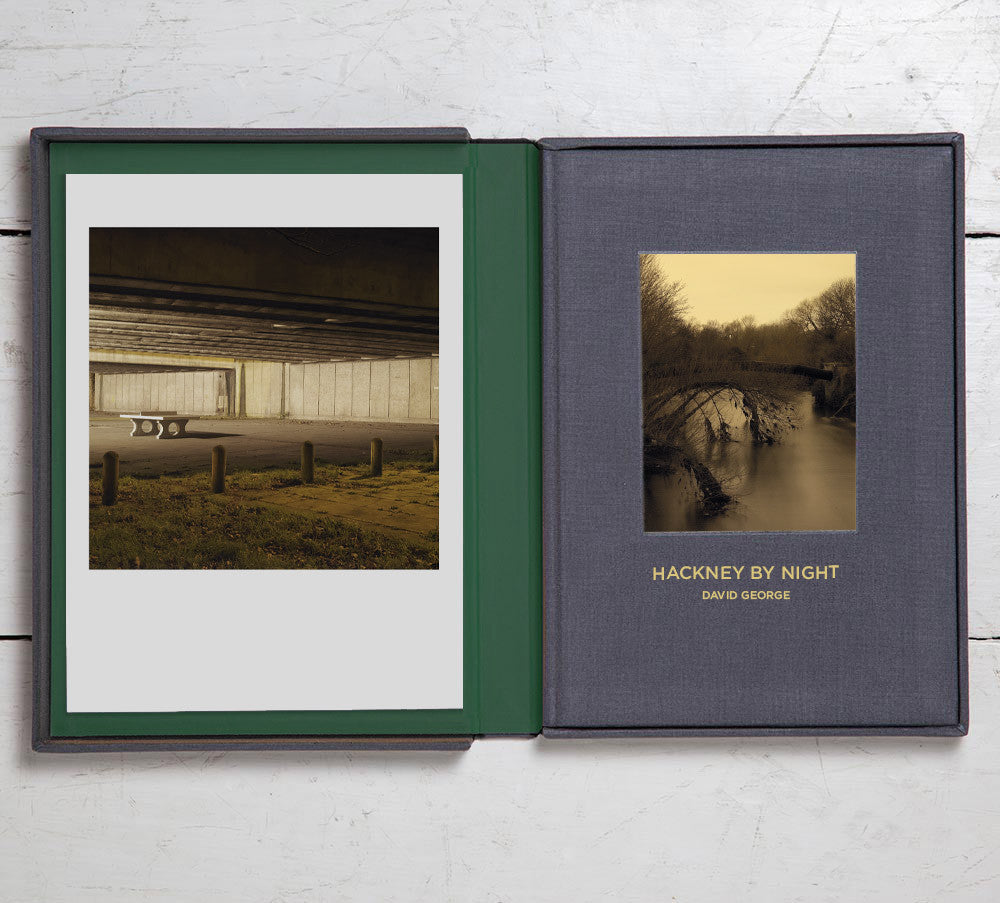 Collector's Edition +  Print  (Photo Book 9) Hackney By Night