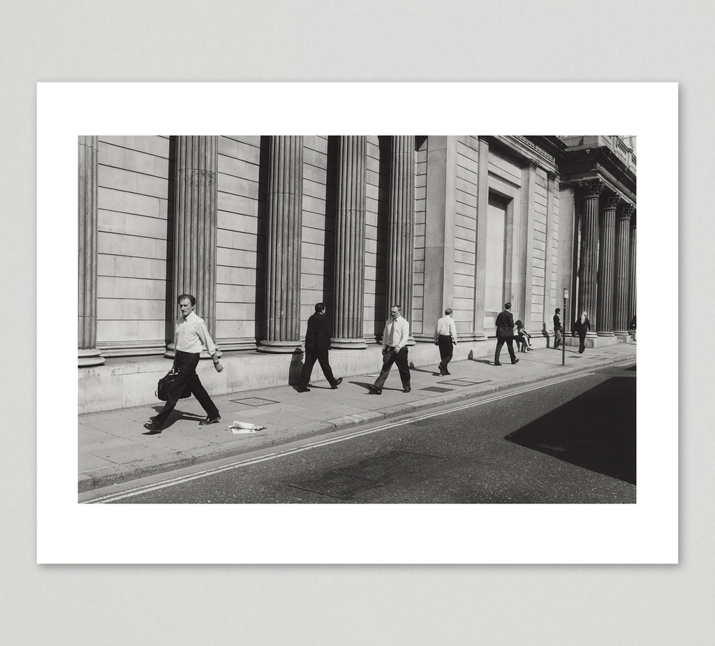 Nicholas Sack Print 'Bank of England, London' - limited edition of 25