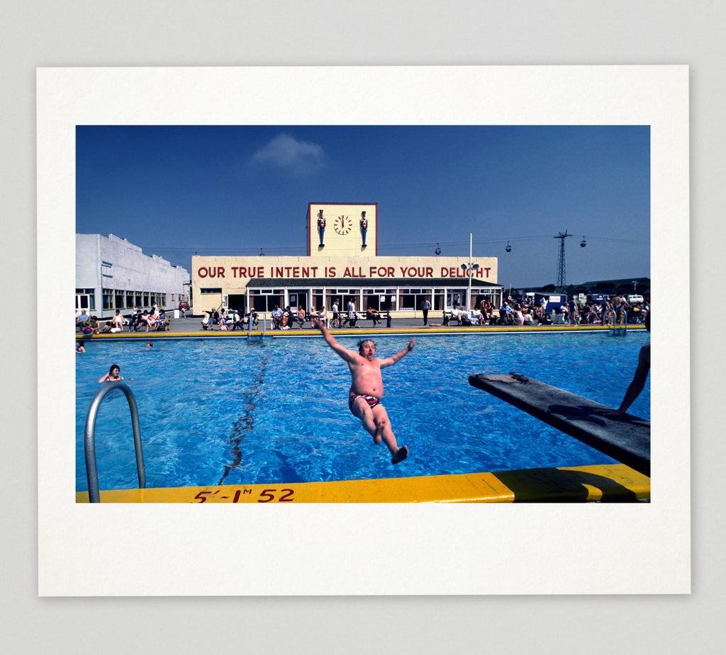 PRE-ORDER: Limited edition print (A) + signed book: 'Butlin's Holiday Camp 1982'