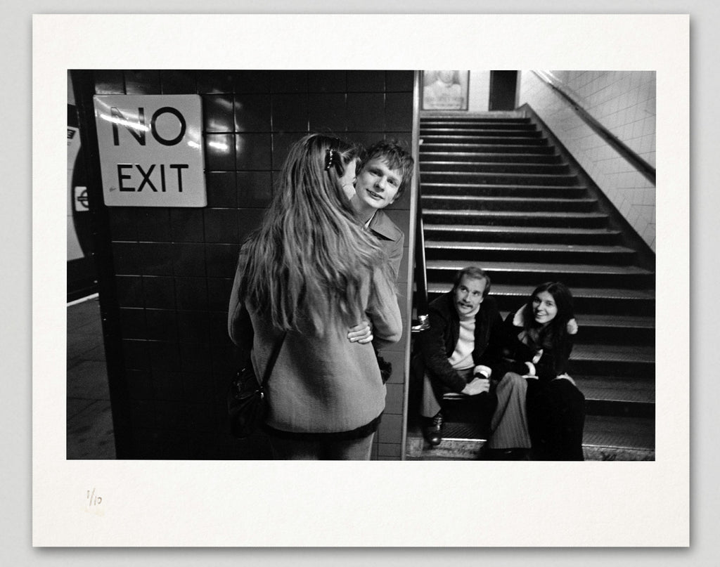 Limited edition print (A) + signed book: 'London Underground 1970-1980'
