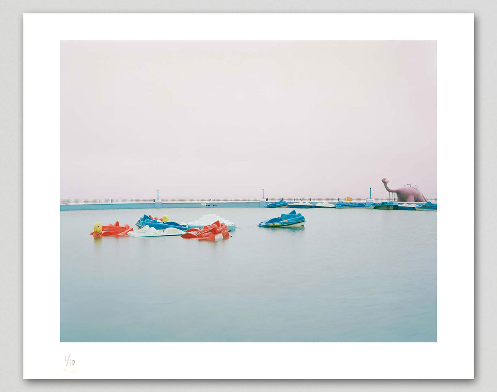 Limited edition print (A) + signed book: 'Funland'