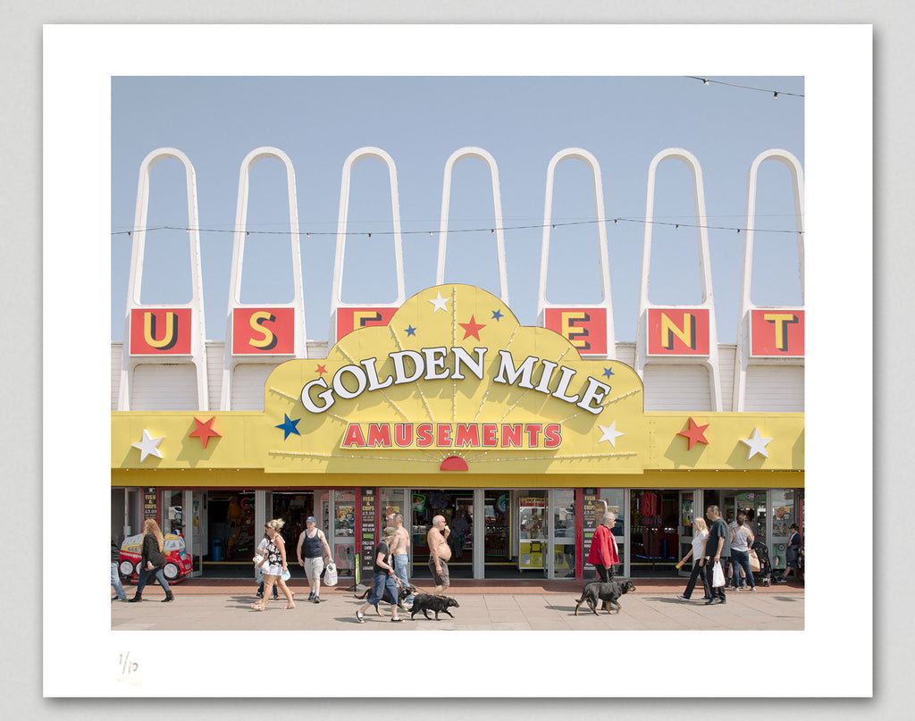 Limited edition print (B) + signed book: 'Funland'