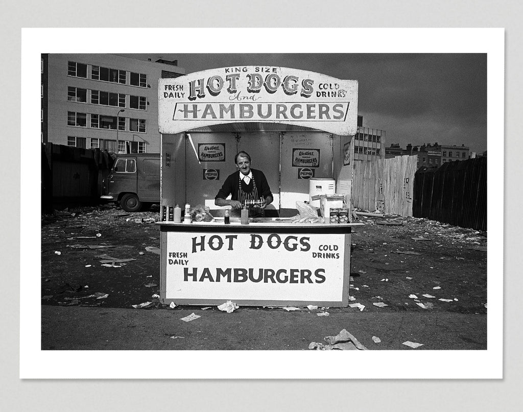 PRE-ORDER: Limited edition print (B) + signed book: 'Once Upon a Time in Brick Lane'