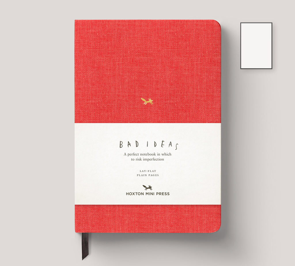 A Notebook for Bad Ideas