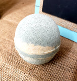 "Coconut Oil Natural Bath Bombs  ""Indigo"""