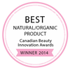 Best Natural Organic Product Winner 2014
