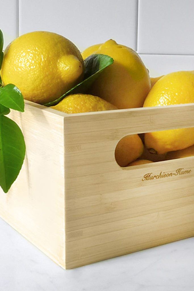 Murchison Hume Bamboo Cleaning Caddy