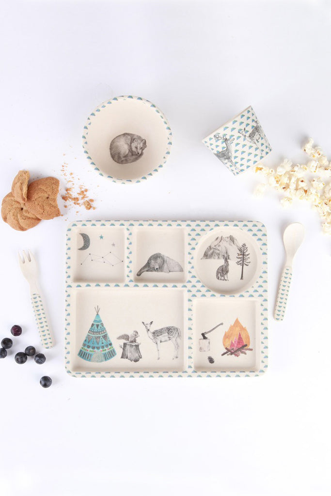 Love Mae Forest Feast Dinnerware