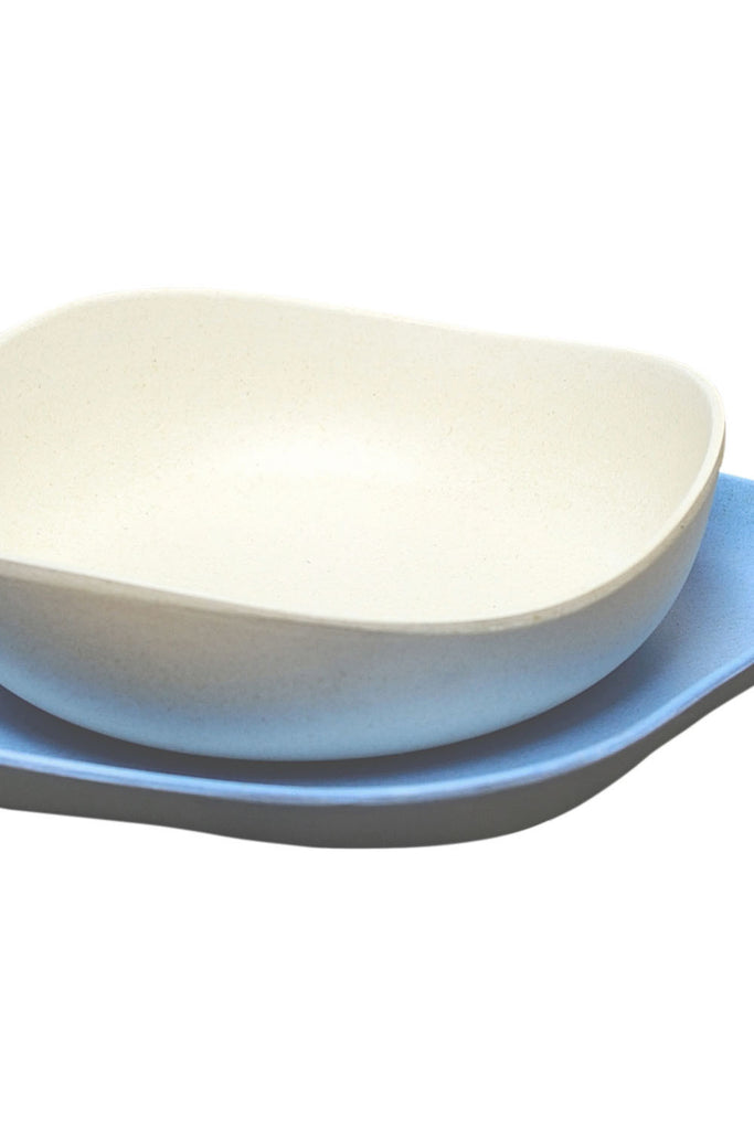 BecoThings Eco-Friendly Feeding Set Blue