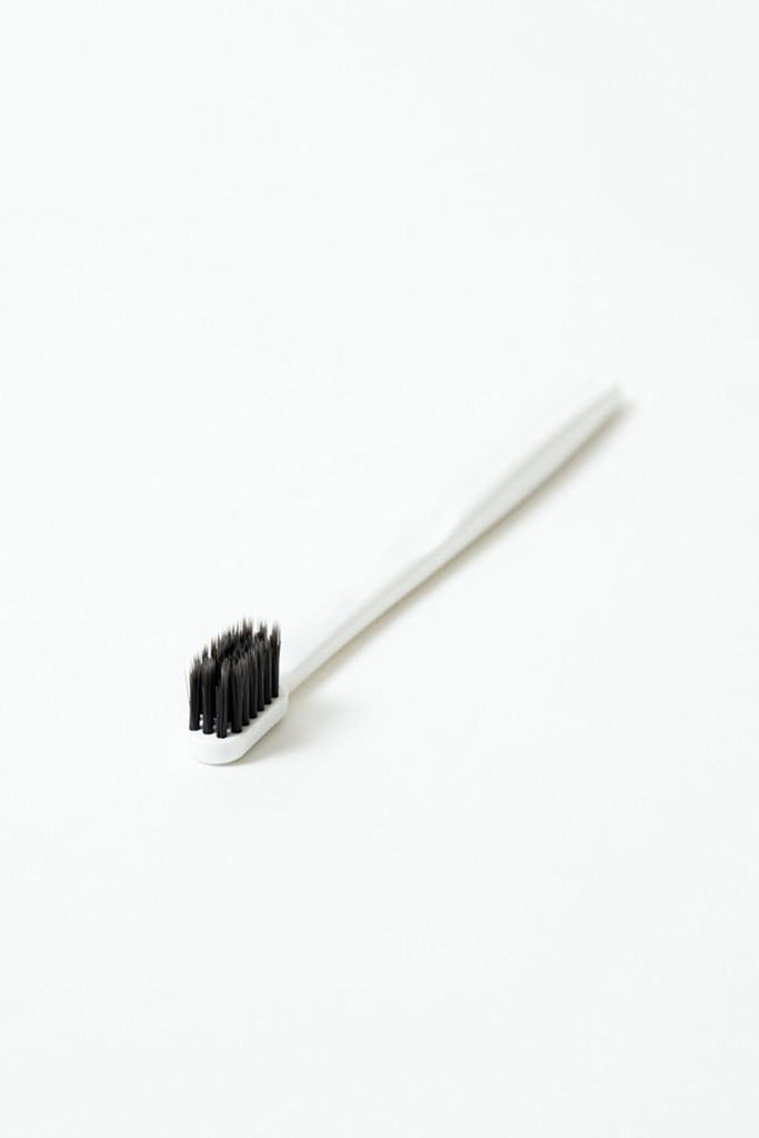 White - Binchotan Charcoal Toothbrush