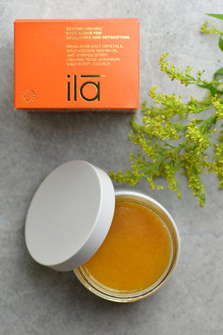 Ila Spa Body Scrub for Energising & Detoxifying