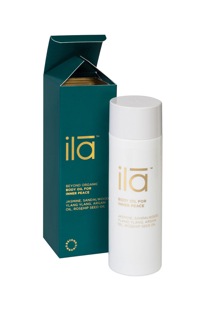 Ila Spa Body Oil for Inner Peace with Box