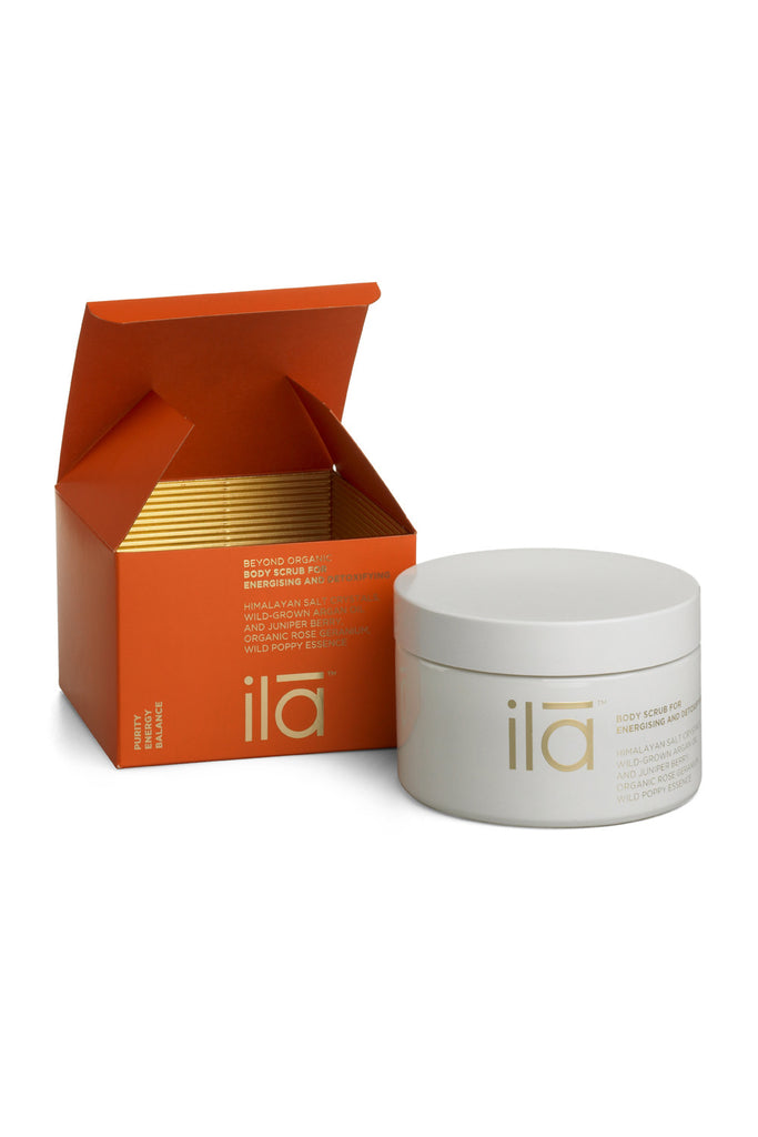 Ila Spa Body Scrub for Energising & Detoxifying Box