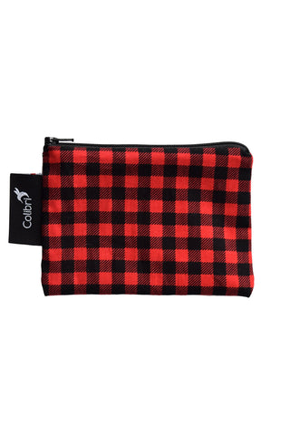 Colibri Reusable Snack Bags Buffalo Check | Small