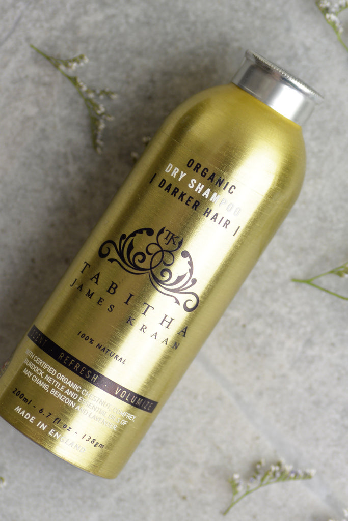 Tabitha James Kraan Dry Shampoo for Dark Hair