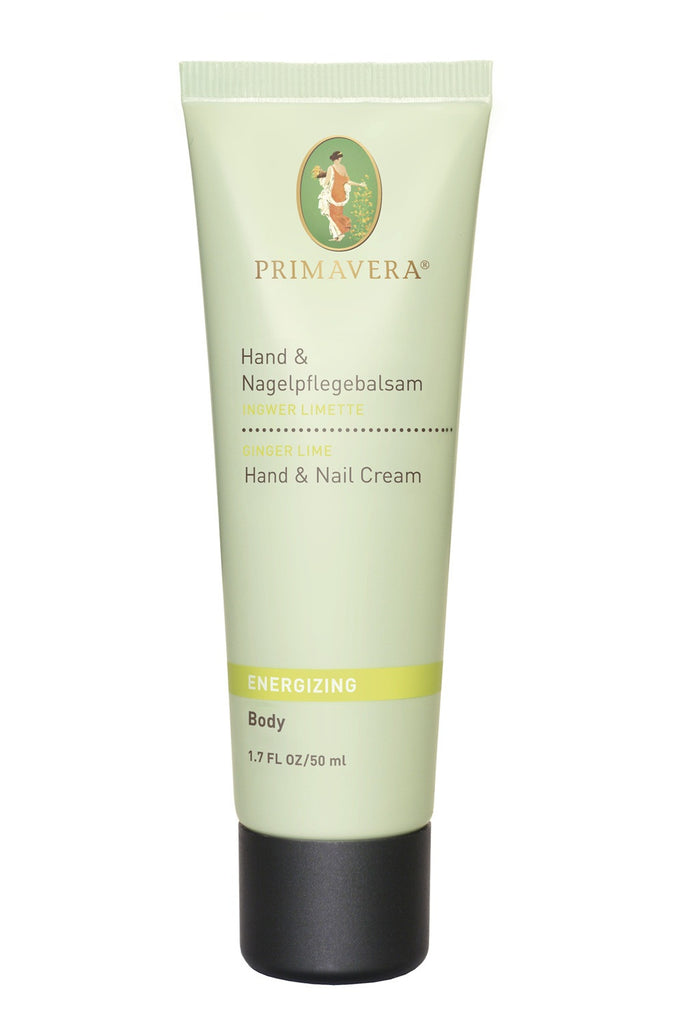 Primavera Energizing Ginger-Lime Hand & Nail Cream