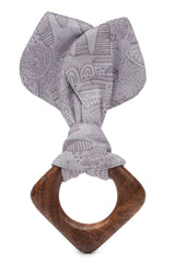 Finn + Emma Teething Ears - Fairytale Charcoal