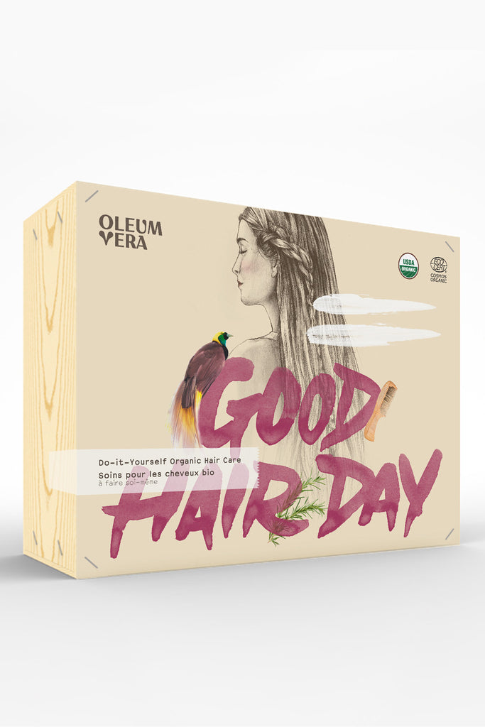 Oleum Vera Do-it-Yourself Organic Hair Care Kit