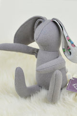 bubyNoa Eco Wool Floppy Ears Grey Bunny