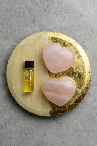 ila Rose Quartz Healing Heart Facial