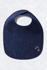 Bambu Soft Hemp Denim Baby Bib