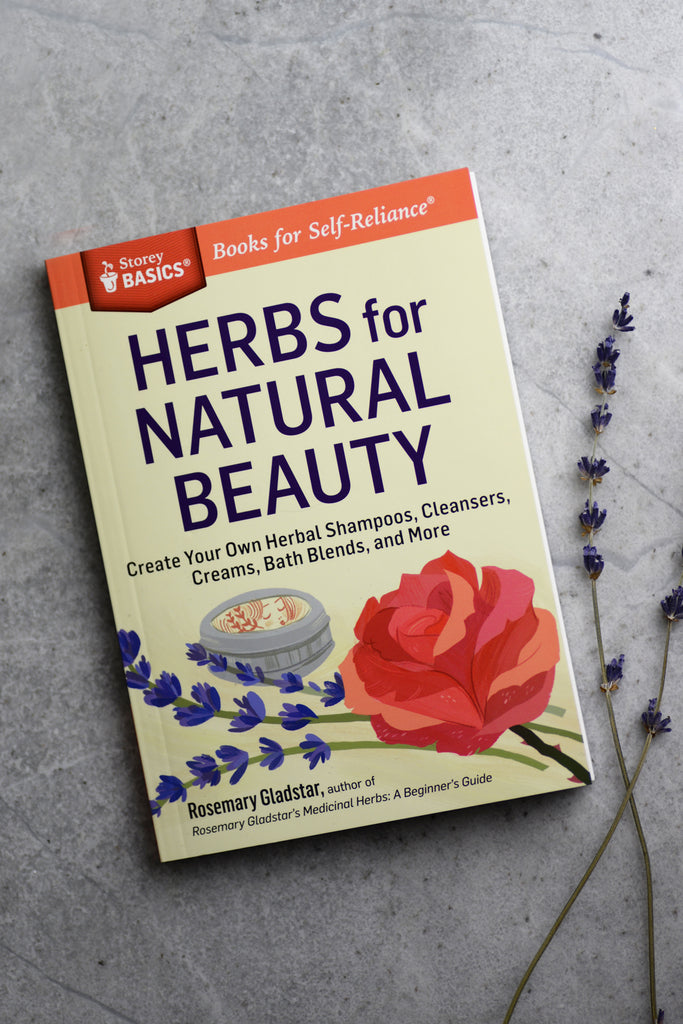 Herbs for Natural Beauty, Rosemary Gladstar