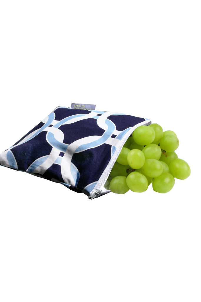 Itzy Ritzy Reusable Snack & Everything Bag - Social Circle