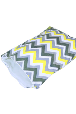 Itzy Ritzy Wet Bag - Sunshine Chevron