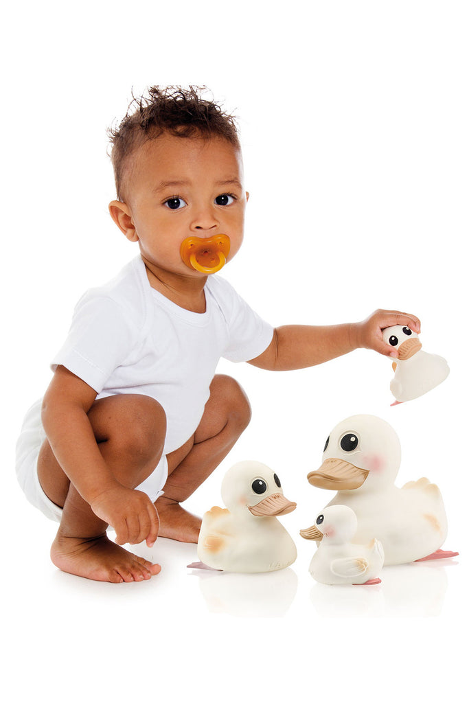 Hevea Natural Rubber Toy Family