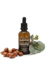 Leaves of Trees Eucalyptus Argan Oil