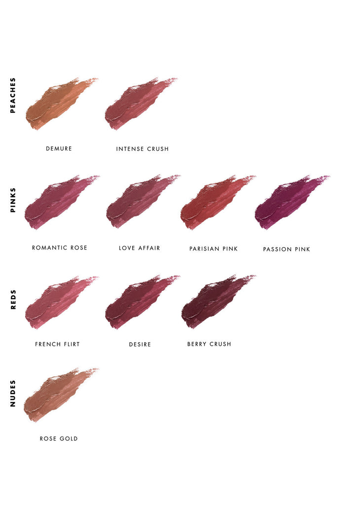 Lipstick Shade Guide