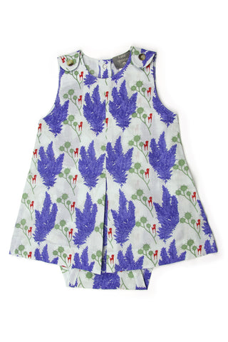 Kate Quinn Organics Unicorn Button Dress Bodysuit