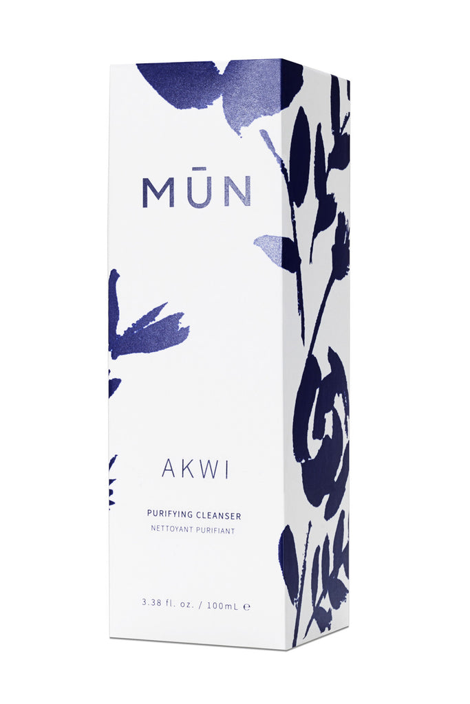 MUN Akwi Purifying Cleanser Box