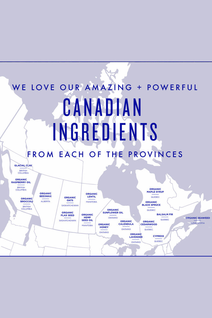 Province Apothecary Canadian Ingredients Map