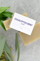 Leaves of Trees Eucalyptus Mint Soap