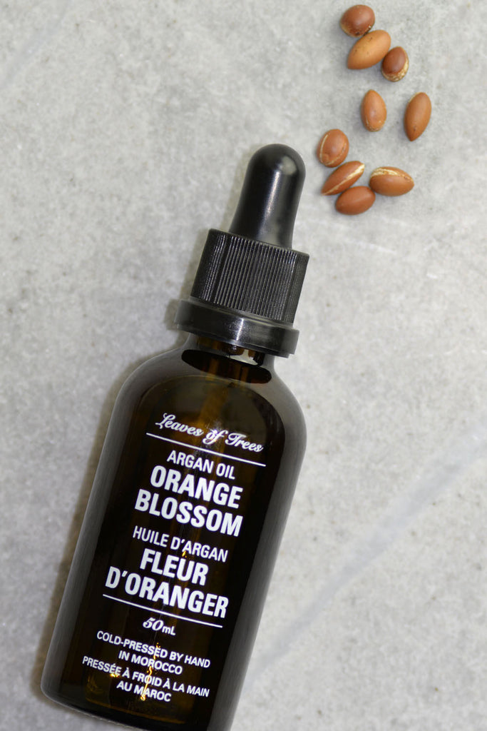 Leaves of Trees Orange Blossom Argan Oil