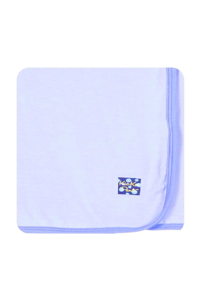 Kickee Pants Lilac & Forget Me Not Swaddling Blanket