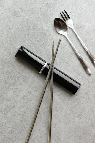 Onyx Portable Cutlery Set