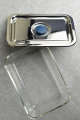 Onyx Rectangle Airtight Glass Container