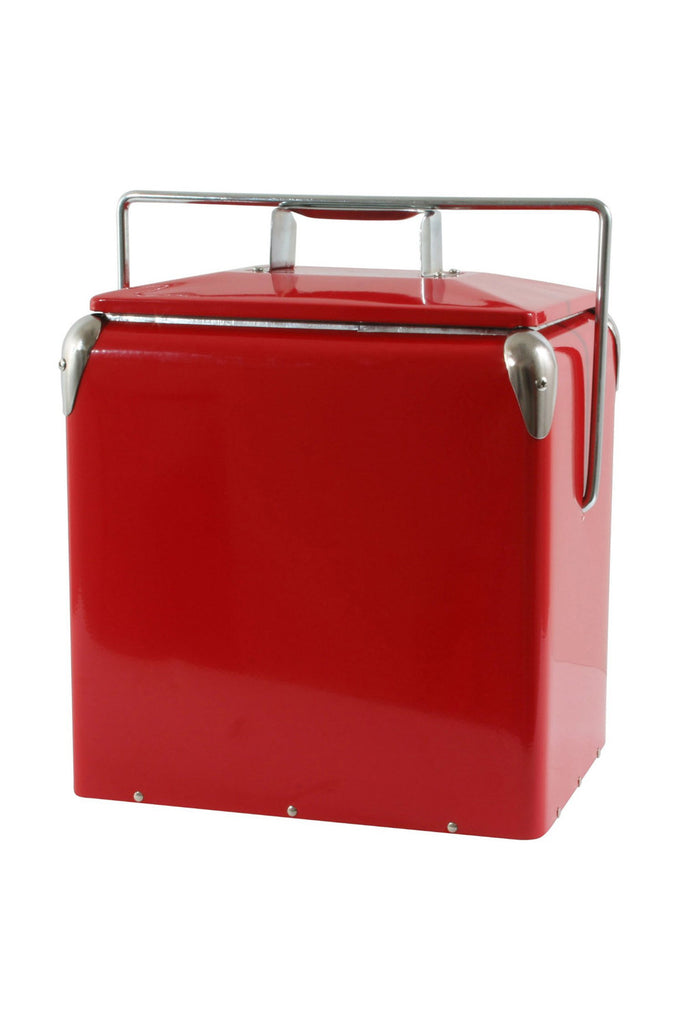 Onyx Vintage Style Cooler - Red