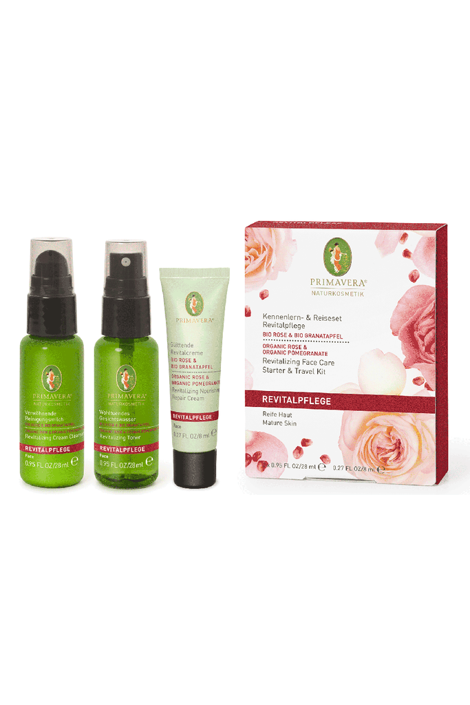 Primavera Revitalizing Face Care Starter & Travel Kit