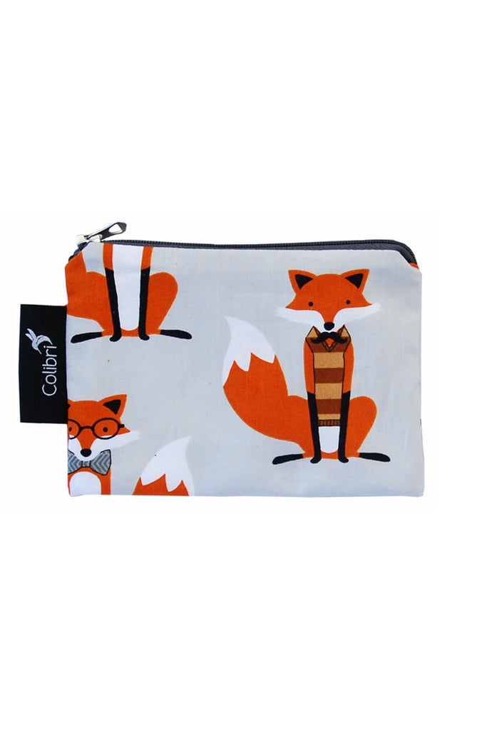 Colibri Reusable Snack Bags Mr. Fox Small