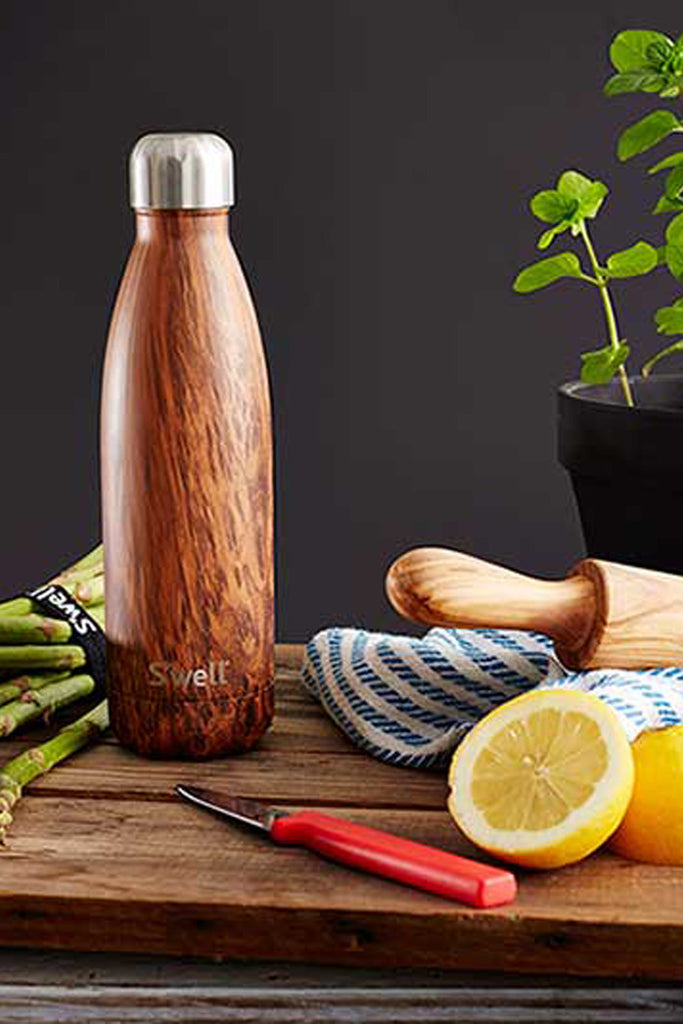 Wood Collection Water Bottle